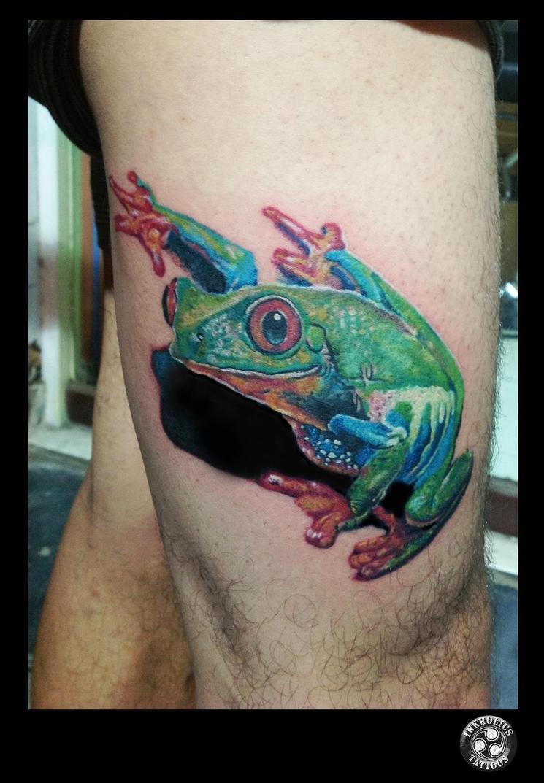 frog tattoo by ketology on deviantart. Black Bedroom Furniture Sets. Home Design Ideas