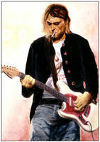 Kurt Cobain by ketology