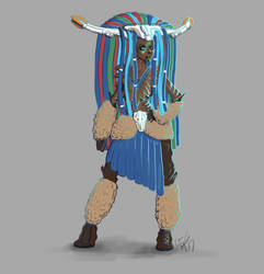 Banuk Shaman - Concept Art Version