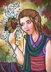 Child of Bloom: a young abdal by novemberkris
