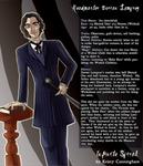 Headmaster Dorian Lamprey:  Profile and Design by novemberkris
