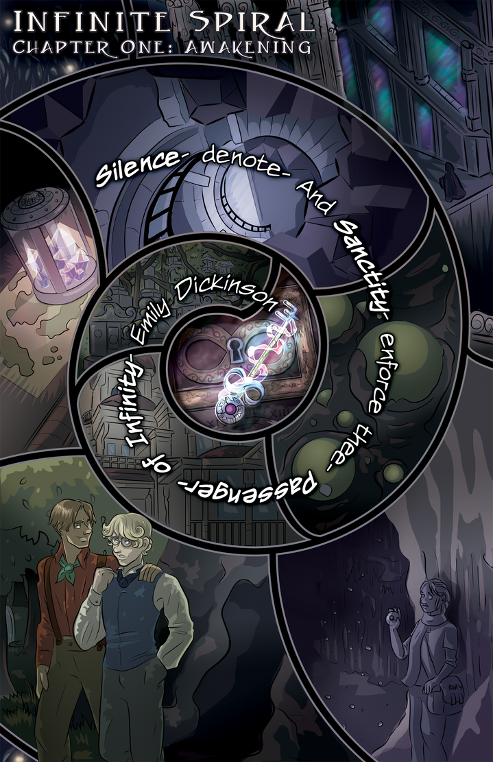 Infinite Spiral: Ch01 P09 by novemberkris