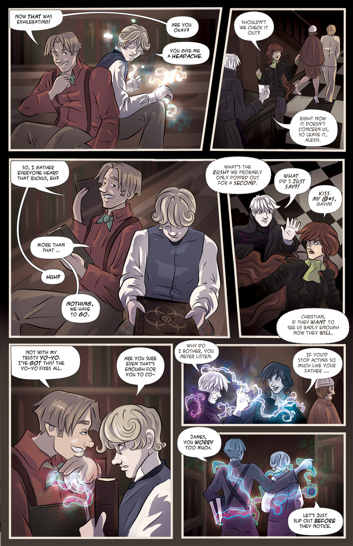 Infinite Spiral: Ch01 P15 by novemberkris