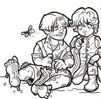 Mud Play Doodle by novemberkris
