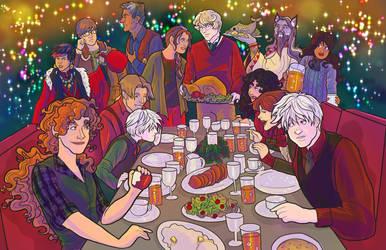 Cheers: A Spiral Holiday 2013 by novemberkris