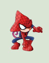 Espio as Spiderman - Superhero Series by DoctorDetectiveMike