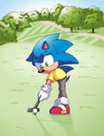Sonic - Taking Up Golf