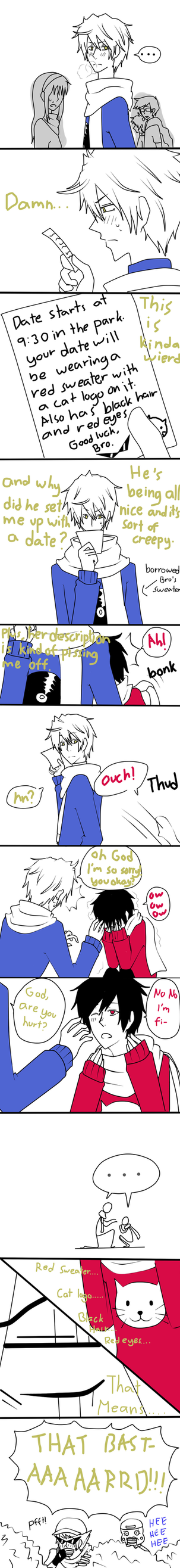 Ask Shizuo and Bro Blind Date by artist-san