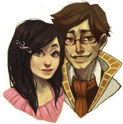 Commission: Sasha and Jerry
