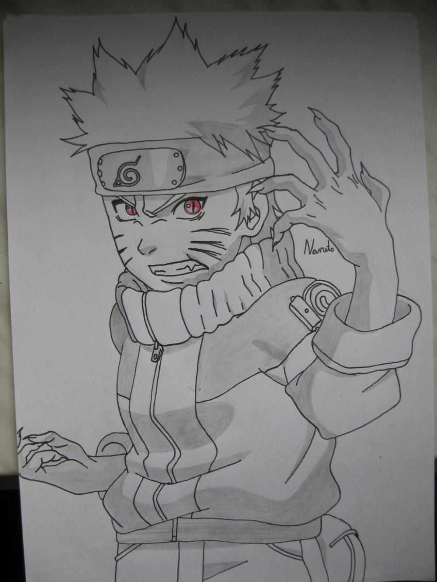 Naruto Kyuubi2 by bunio05