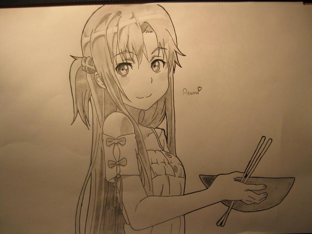 Asuna by bunio05