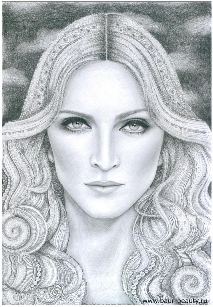 Queen Madonna by baurberdeshev