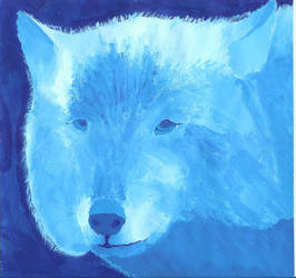 Wolf Tent Painting