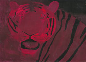 Tiger Shade Painting