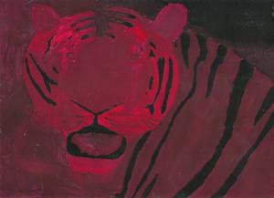 Tiger Shade Painting