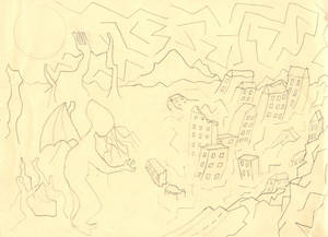 Meidner Master Study sketch