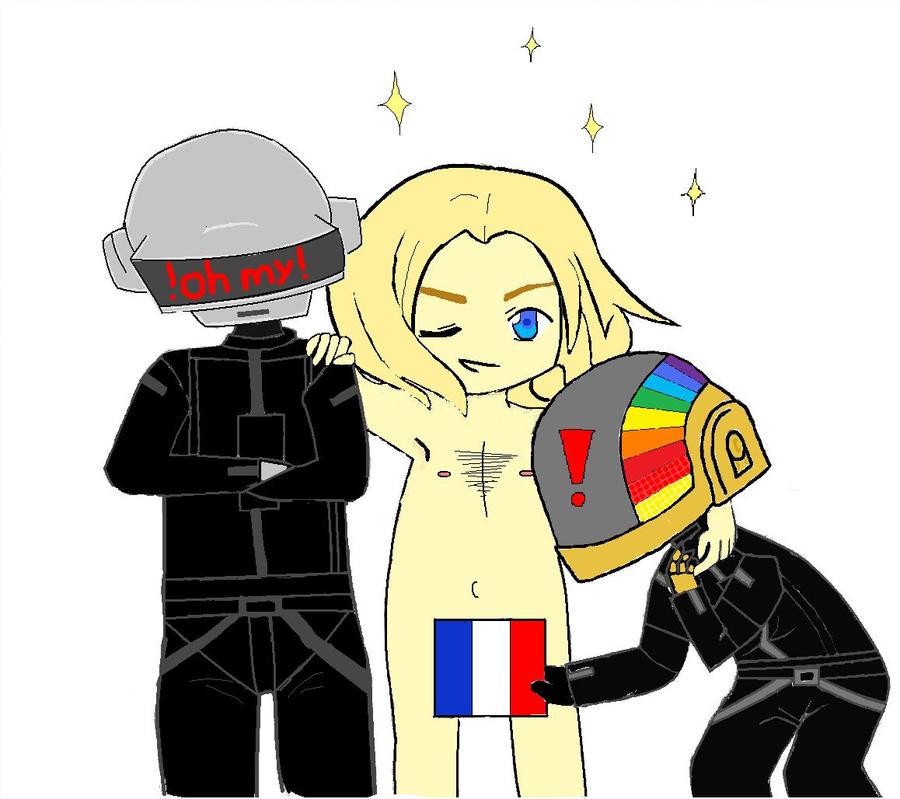 Le Daft Punk by tamaraariel
