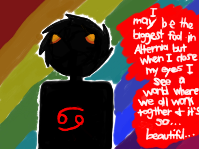Karkat Vantas Quotes Sufferer Quote w Karkat by