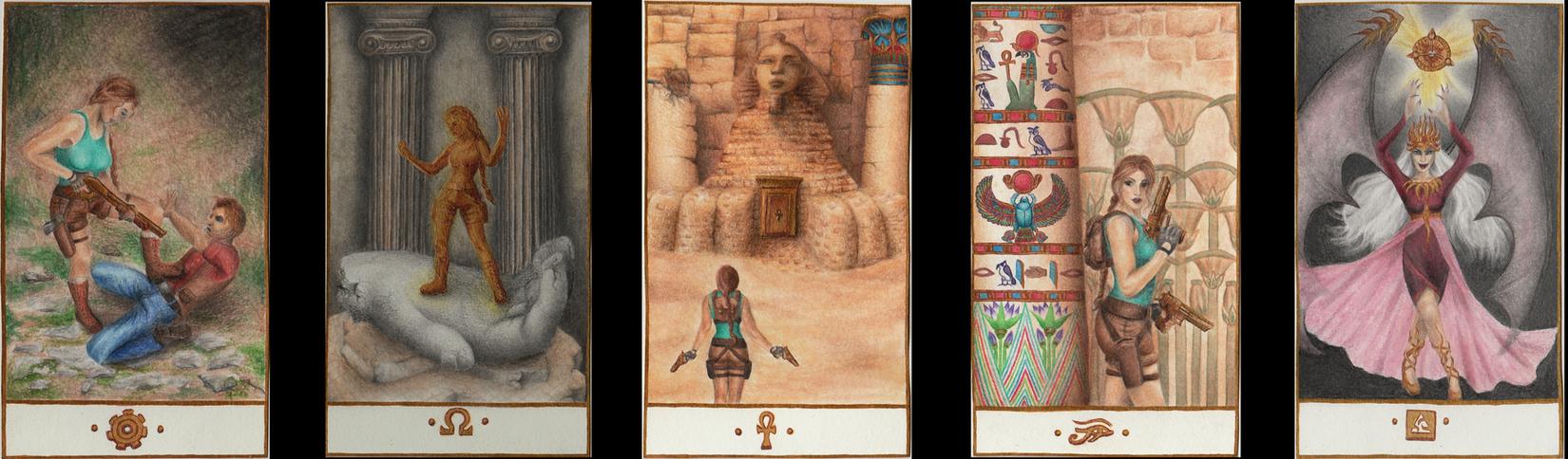 Tomb Raider Card Design by alienmasked