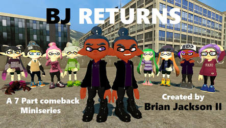 BJ Returns The 7 part miniseries (Trailer poster)