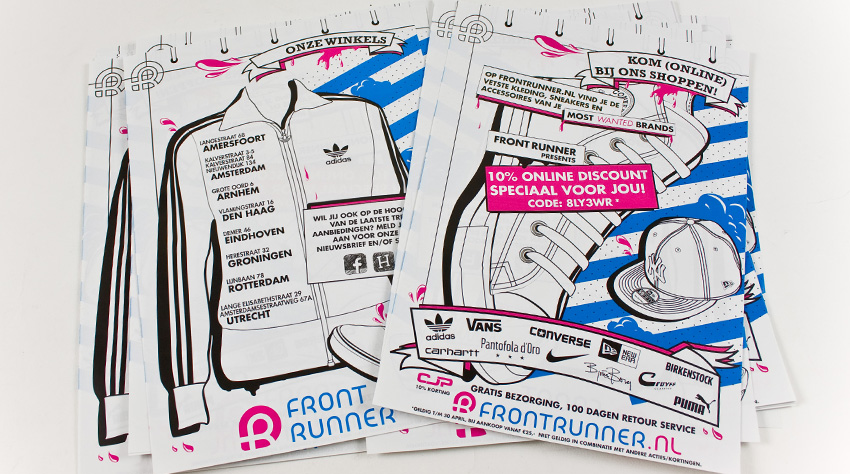 ROC Front Runner flyer by Exquision