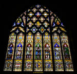 Knights Stained Glass Window