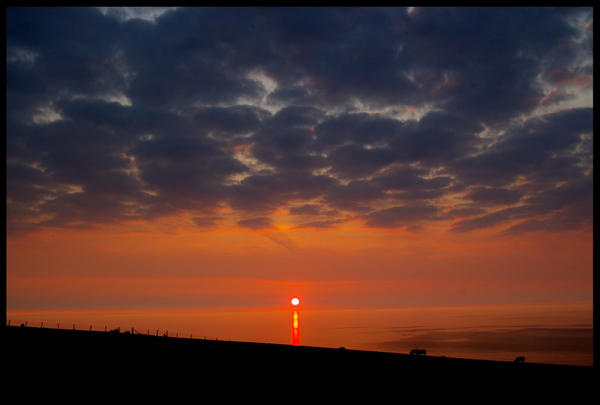 SeaSide Sunset by Hitomii