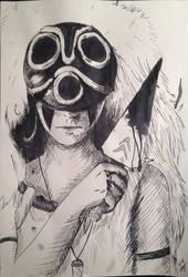 Mononoke Hime by cari262