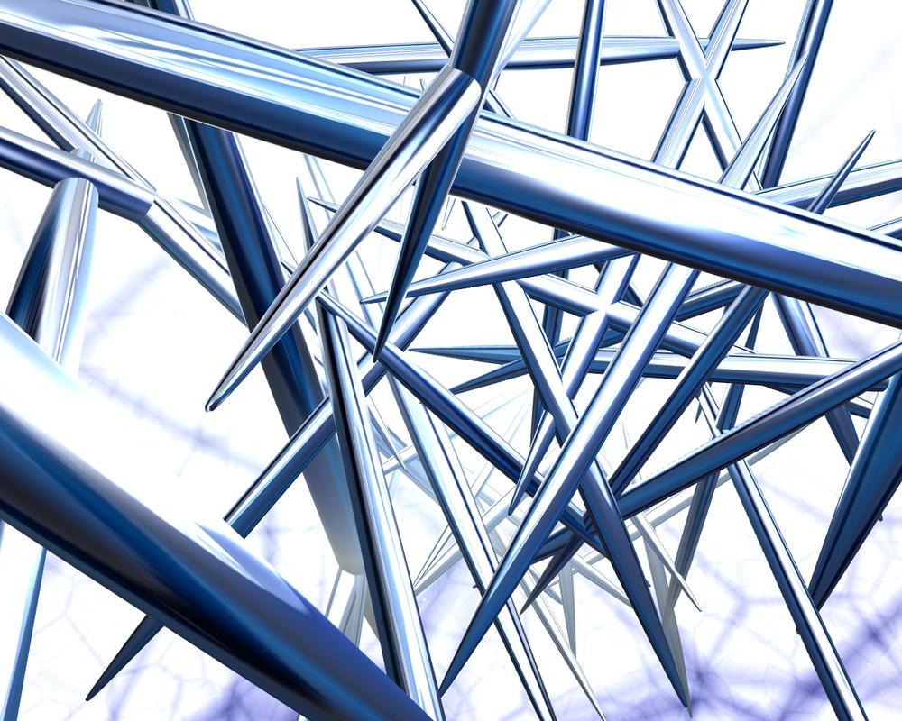 Espinas metalicas by haunterbeta on deviantart - Fotos de construcciones metalicas ...