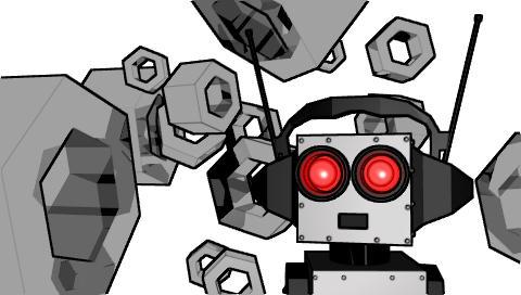 robot psp
