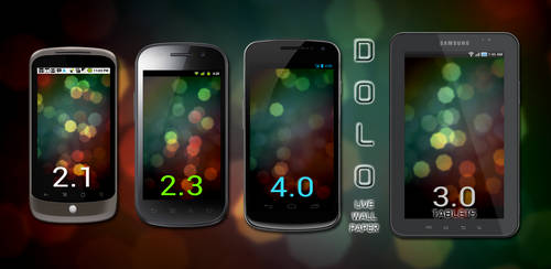 DOLO Bokeh Live Wallpaper for Android