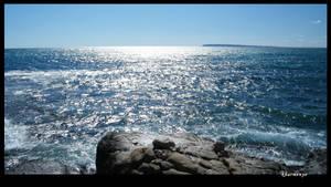 sea wave rocks