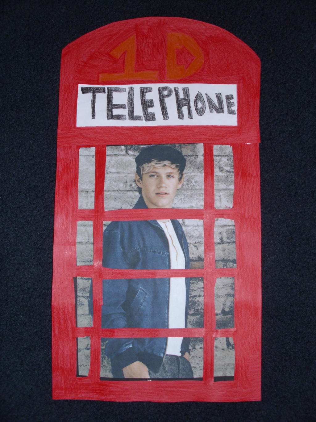Niall Horan Phone Booth by duncancourtneytda