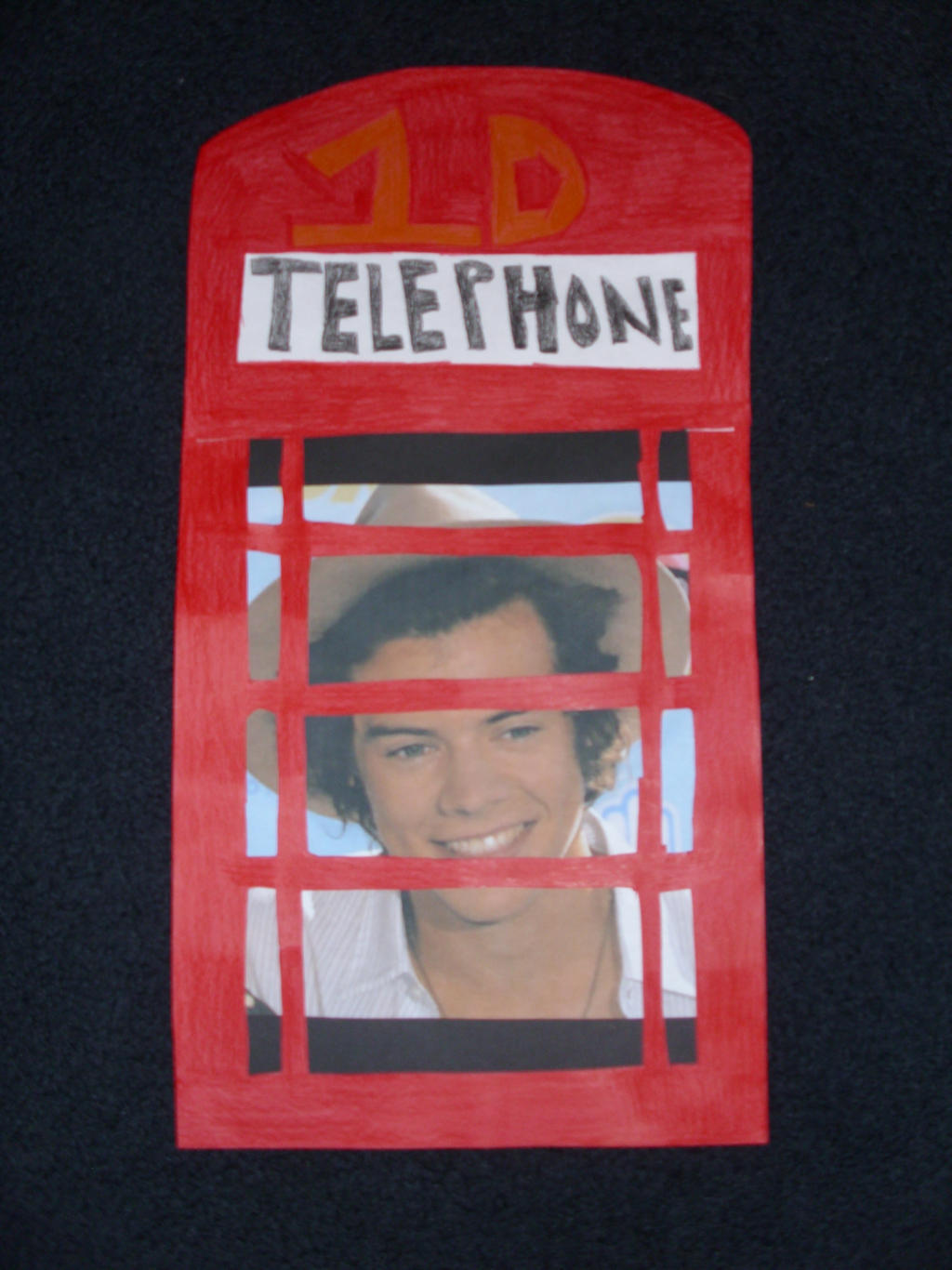 Harry Styles Phone Booth by duncancourtneytda