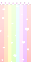 Pastel Rainbow Custom Box Background
