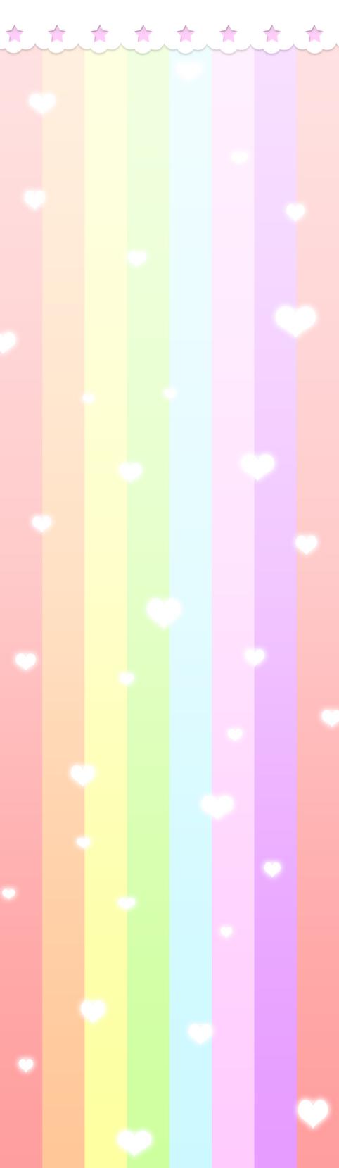 Pastel Rainbow Custom Box Background By Bunri