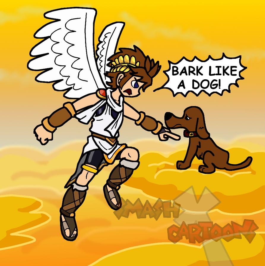 Bark like a Dog by SmashToons
