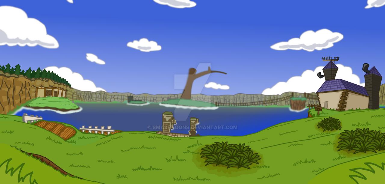 Lake Hylia by SmashToons