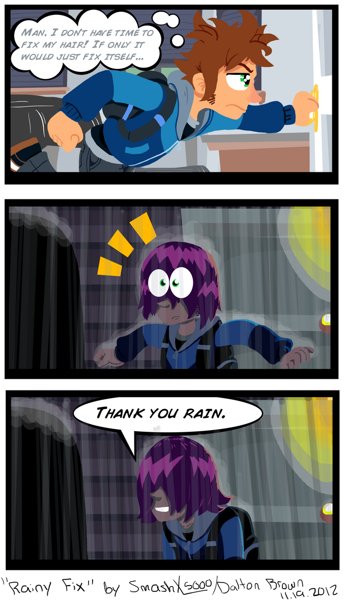 ST#003: Rainy Fix by SmashToons