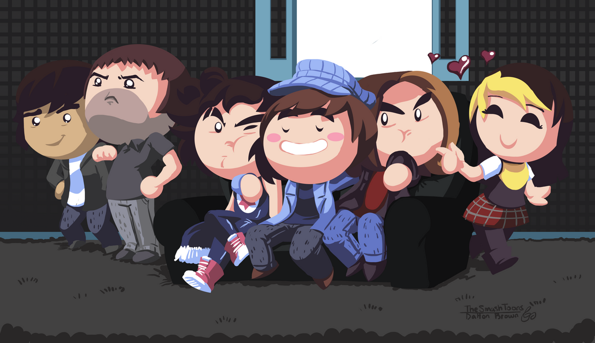 A Group of Grumps by SmashToons