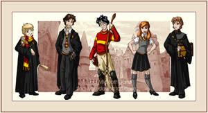 Last Generation Gryffindors by tina-lynn