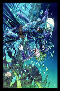 Batman vs. Joker - Collaboration with Rudy Vasquez