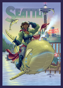 Seattle ComiCon - Collaboration with Terry Dodson