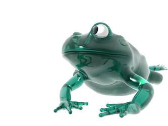 Glass Frogg by jaymoon85