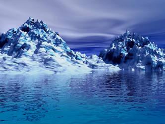 Snowy Glacier by jaymoon85