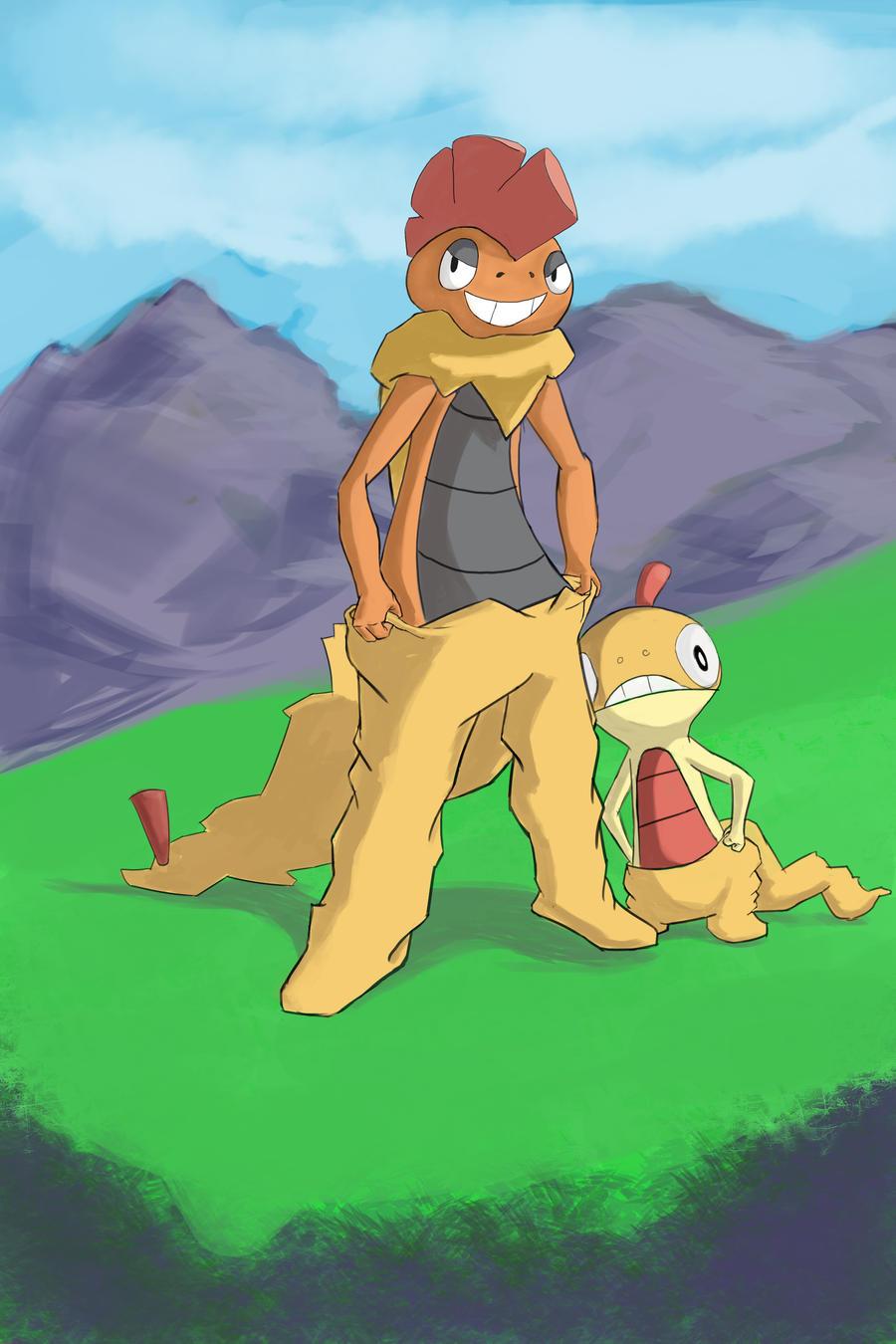 Pants Lizard by venomkold822