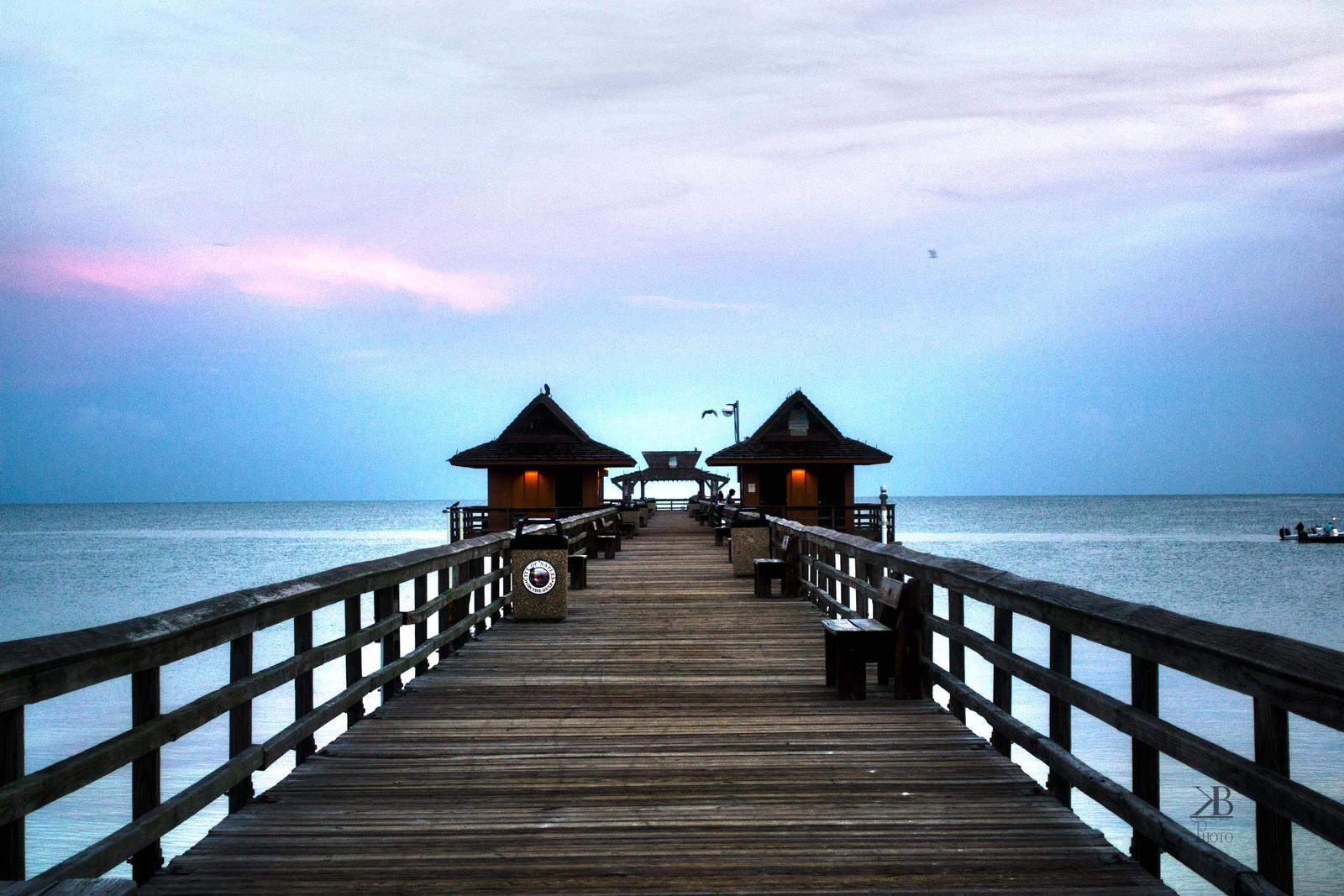 Wallpaper Naples Florida: Sunrise On Naples Pier, Florida By Bennettlizzy81 On