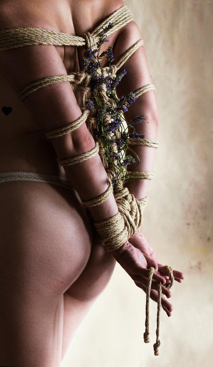 Lavender Kinbaku by 6v4MP1r36