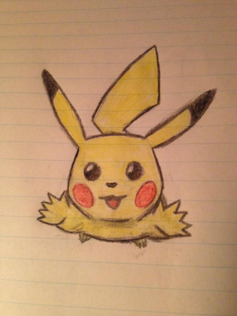 Pikachu by tjmoonstudios
