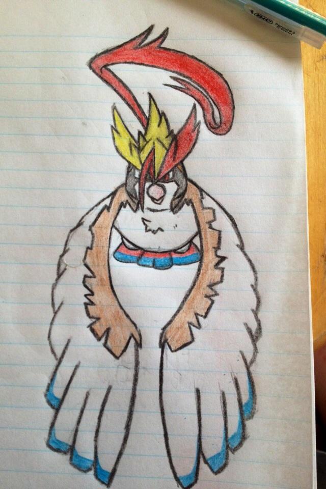 Mega Pidgeot by tjmoonstudios